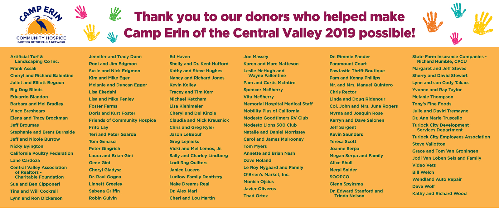 Camp Erin® of the Central Valley - Camp Erin of the Central Valley